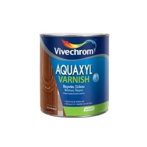 AQUAXYL VARNISH  Βερνίκι Εμποτισμού Ξύλου Βάσεως Νερού 0.75l