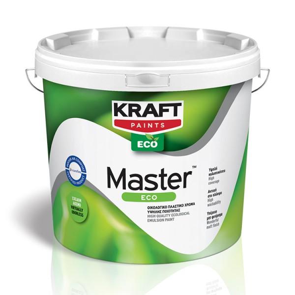 MASTER ECO Οικολογικό πλαστικό χρώμα υψηλής ποιότητας
