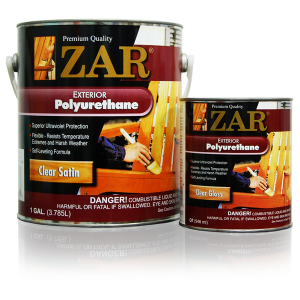 ZAR® Exterior Oil-Based Polyurethane