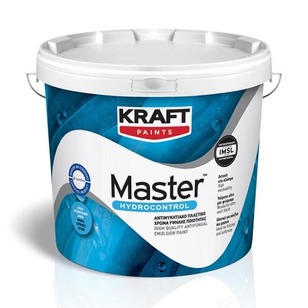 MASTER HYDROCONTROL Αντιμυκητιακό πλαστικό χρώμα υψηλής ποιότητας