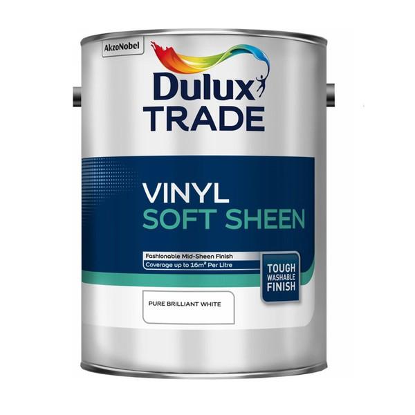 DULUX TRADE VINYL SOFT SHEEN Πλαστικό Χρώμα Σατινέ